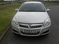 USED 2008 58 VAUXHALL ASTRA 1.6 LIFE A/C 5d 115 BHP