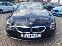 USED 2010 10 BMW 6 SERIES 3.0 635D SPORT 2d AUTO 282 BHP SAT NAV+Heated Leather+FSH