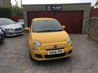 USED 2014 64 FIAT 500 1.2 S 3d 69 BHP B/TOOTH+FSH+£30 TAX+MOTMAY2020