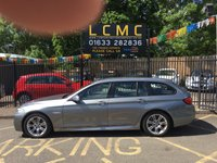 USED 2011 11 BMW 5 SERIES 2.0 520D M SPORT TOURING 5d 181 BHP STUNNING SPACE GREY PAINT WORK, BEIGE LEATHER, HEATED SEATS, AIRCON, M SPORT ALLOY WHEELS, SAT NAV, CRUISE CONTROL, FRONT AND REAR PARKING SENSORS, BIG SPEC, EXCELLENT SERVICE HISTORY RECENT SERVICE