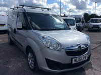 USED 2015 15 VAUXHALL COMBO VAN 1.3 2300 L2H1 CDTI S/S SPORTIVE 90 BHP 1 OWNER FSH NEW MOT  AIR CON RACKING FREE 6 MONTH AA WARRANTY INCLUDING RECOVERY AND ASSIST NEW MOT EURO 5 AIR CONDITIONING RACKING ROOF RACK ELECTRIC WINDOWS BLUETOOTH REAR PARKING SENSORS SPARE KEY TWIN SIDE LOADING DOORS