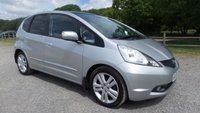 USED 2009 09 HONDA JAZZ 1.3 I-VTEC EX 5d 98 BHP FULL HONDA SERVICE HISTORY, 1 OWNER PLUS SUPPLYING DEALER, 2 X KEYS, PANORAMIC ROOF, CLIMATE CONTROL, REMOTE LOCKING, ELECTRIC WINDOWS, ELECTRIC MIRRORS, NEW MOT JUST DONE, SUPERB EXAMPLE, METALLIC PAINT, SAME DAY FINANCE