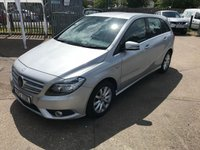2012 MERCEDES-BENZ B CLASS 1.6 B180 BLUEEFFICIENCY SE 5d 122 BHP £8999.00