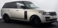 USED 2015 15 LAND ROVER RANGE ROVER 3.0 TD V6 Autobiography 4X4 (s/s) 5dr Rear DVD's, Black Pk, Pan Roof