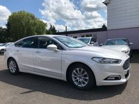 USED 2016 16 FORD MONDEO 1.5 TDCI ZETEC ECONETIC 5d 114 BHP WITH SAT NAV AND ZERO ROAD TAX NO DEPOSIT ECP/PCP/HP FINANCE ARRANGED, APPLY HERE NOW