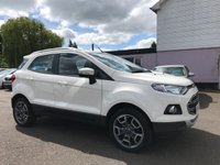 USED 2014 64 FORD ECOSPORT 1.0 TITANIUM X-PACK 5d 125BHP WITH FULL FORD SERVICE HISTORY NO DEPOSIT ECP/HP FINANCE ARRANGED, APPLY HERE NOW