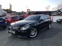2014 MERCEDES-BENZ E CLASS 2.1 E250 CDI AMG SPORT 5d AUTO 202 BHP £16995.00