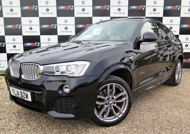 2014 14 BMW X4 3.0 XDRIVE30D M SPORT 4d AUTO 255 BHP