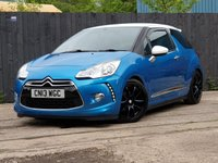 USED 2013 13 CITROEN DS3 1.6 E-HDI AIRDREAM DSPORT 3d 111 BHP