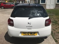 USED 2012 12 CITROEN DS3 1.6 DSTYLE PLUS 3d 120 BHP LOVELY DS3 IN WHITE !!