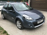 USED 2010 59 RENAULT CLIO 1.6 PRIVILEGE VVT 5d 127 BHP TWO LADY OWNERS SINCE 2012