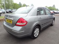 USED 2010 60 NISSAN TIIDA 1.6 4 Door 3 Months National Warranty - 1 Years MOT for New Owner