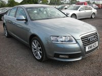 USED 2011 11 AUDI A6 2.0 TDI SE 4d 168 BHP Leather - Sat nav - Face lift model