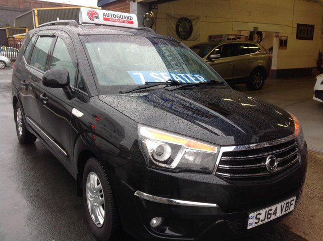 2014 64 SSANGYONG TURISMO 2.0 E XDI S   7 SEATER