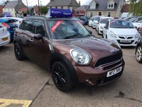 USED 2013 MINI COUNTRYMAN 2.0 COOPER SD 5d 141 BHP LOW MILEAGE DIESEL ESTATE WITH SERVICE HISTORY AND LOADED WITH EXTRAS