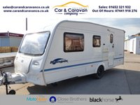 USED 2004 BAILEY RANGER 500/5  5 BERTH GREAT STARTER VAN