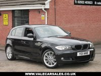 USED 2011 11 BMW 1 SERIES 120D M SPORT AUTOMATIC 5dr AUTOMATIC + FULL SERVICE HISTORY