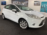 USED 2010 10 FORD FIESTA 1.4 ZETEC 16V 5d 96 BHP IMMACULATE, LOW MILES, F/S/H