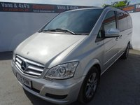 2012 MERCEDES-BENZ VIANO 2.1 AMBIENTE CDI BLUEEFFICENCY 5d 163 BHP £7995.00