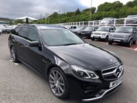 USED 2015 15 MERCEDES-BENZ E CLASS 5.5 E63 AMG 5d 550 BHP Only 24,000 miles with huge specification 550bhp Model