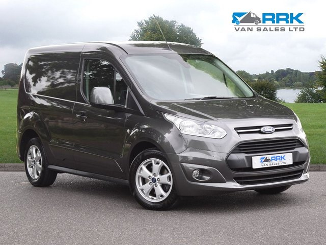 2018 18 FORD TRANSIT CONNECT 1.5 200 LIMITED P/V 1d 118 BHP