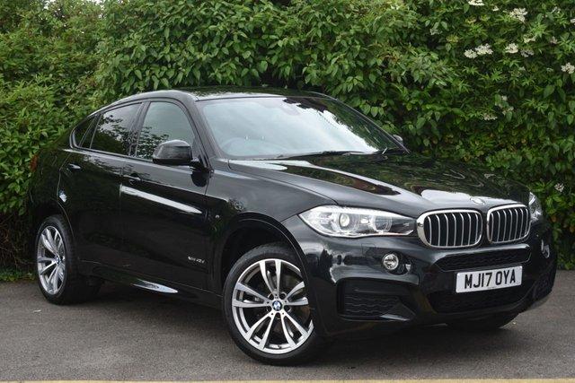 2017 17 BMW X6 3.0 XDRIVE40D M SPORT 4d 309 BHP