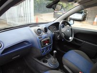 USED 2008 57 FORD FIESTA 1.4 ZETEC BLUE 5d 80 BHP