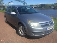 USED 2004 04 VAUXHALL ASTRA 1.4 CLUB 16V TWINPORT 5d 90 BHP **ALLOY WHEELS, AIR CON**