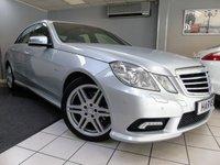 2009 MERCEDES-BENZ E CLASS 2.1 E220 CDI BLUEEFFICIENCY SPORT 4d AUTO 170 BHP £7795.00