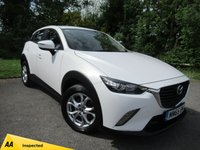 USED 2015 65 MAZDA CX-3 1.5 D SE NAV 5d  * 12 MONTHS MOT * 12 MONTHS AA BREAKDOWN COVER * 128 POINT AA INSPECTED *