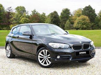 2016 BMW 1 SERIES 1.5 118I SPORT 3d 134 BHP £10000.00