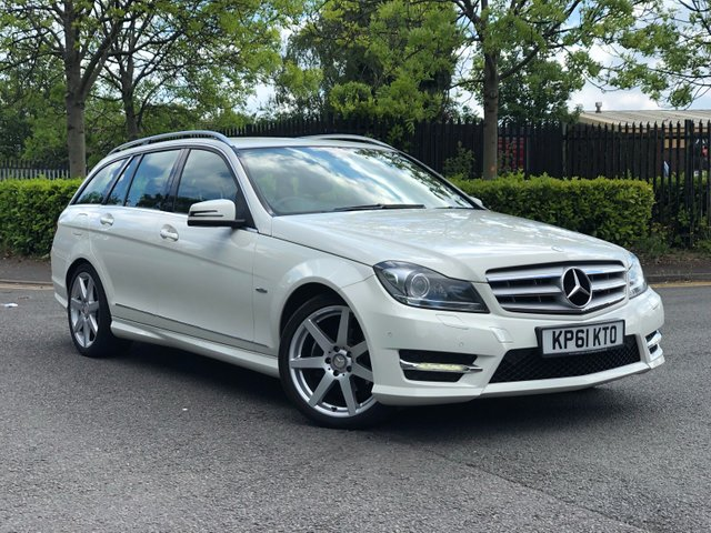 2011 61 MERCEDES-BENZ C CLASS 2.1 C220 CDI BLUEEFFICIENCY SPORT ED125 5d AUTO 170 BHP