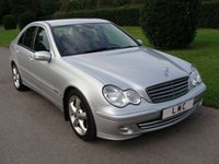 USED 2004 54 MERCEDES-BENZ C CLASS 1.8 C180 KOMPRESSOR AVANTGARDE SE 4d AUTO 141 BHP