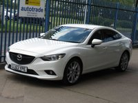 2014 MAZDA 6 2.2 D SPORT NAV 4d Sat nav Leather Rear camera Heated seats £8500.00