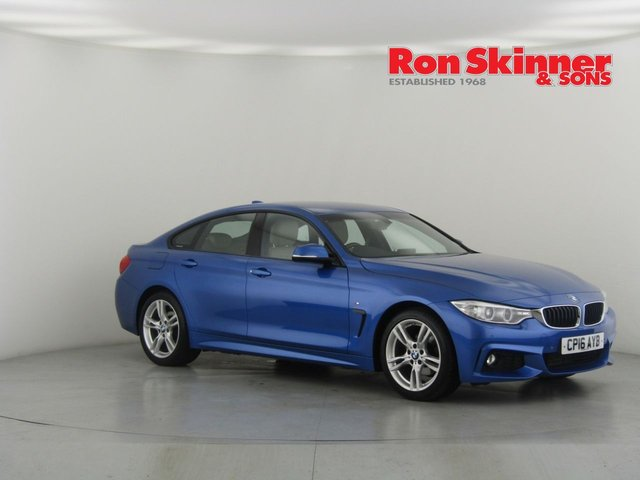 View our 2016 16 BMW 4 SERIES 2.0 418D M SPORT GRAN COUPE 4d AUTO 148 BHP