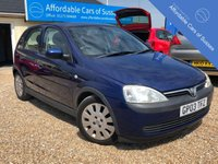 USED 2003 03 VAUXHALL CORSA 1.0 ACTIVE AUTOMATIC 5 DOOR Low Mileage Petrol Automatic 1.0 Engine Petrol