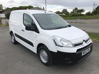 2012 CITROEN BERLINGO 850 ENTERPRISE 1.6 HDi 90 L1 H1  £4995.00