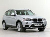 2016 BMW X3 2.0 XDRIVE20D SE 5d AUTO 188 BHP £19839.00