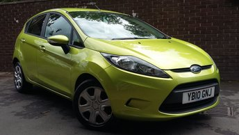 2010 FORD FIESTA 1.4 EDGE 5d 96 BHP £4289.00