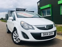 2014 VAUXHALL CORSA 1.2 EXCITE AC 3 DOOR only 21,000 miles with full service history £4695.00