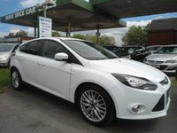 USED 2013 63 FORD FOCUS 1.6 ZETEC TDCI 5d 113 BHP ONE FORMER KEEPER
