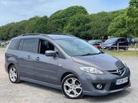 USED 2008 08 MAZDA MAZDA 5 2.0 SPORT D 5d 143 BHP AIR-CONDITIONING, ALLOY WHEELS, 2 X KEYS, REMOTE LOCKING, ELECTRIC WINDOWS, SLIDING REAR DOORS, ELECTRIC MIRRORS, CD-PLAYER, METALLIC PAINT, ECONOMICAL FAMILY MOTORING, 6 SEATER,