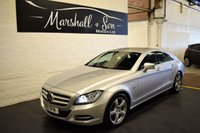 USED 2011 11 MERCEDES-BENZ CLS CLASS 3.0 CLS350 CDI BLUEEFFICIENCY 4d AUTO 265 BHP LOVELY CONDITION THROUGHOUT - 7 MERC STAMPS TO 79K - LEATHER - NAV - CRUISE - BLUETOOTH