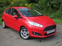 USED 2013 63 FORD FIESTA 1.0 ZETEC 5d  * 128 POINT AA INSPECTED * 12 MONTHS MOT * FULL SERVICE HISTORY *