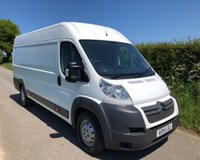 2014 CITROEN RELAY 35 HEAVY L4H2 HDI £6495.00
