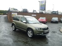USED 2014 SKODA YETI 2.0 OUTDOOR SE TDI CR 5d 109 BHP