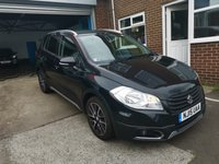 USED 2015 15 SUZUKI SX4 S-CROSS 1.6 SZ-T DDIS 5d 118 BHP 29991 MILES FROM NEW, LOW C02 EMISSIONS, 110 G/KM, £20 ROAD TAX, GREAT SPECIFICATION INCLUDING, SATELLITE NAVIGATION, REVERSING CAMERA, ELECTRIC WINDOWS, REMOTE CENTRAL LOCKING, AIR CONDITIONING, PRIVACY GLASS, ALLOY WHEELS, MEETS ALL LARGE CITY EMISSION STANDARDS.