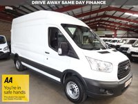 USED 2016 16 FORD TRANSIT 2.2 350 H/R P/V 125 BHP L3 H3 LWB HI ROOF VAN '' YOU'RE IN SAFE HANDS  ''  WITH THE AA DEALER PROMISE