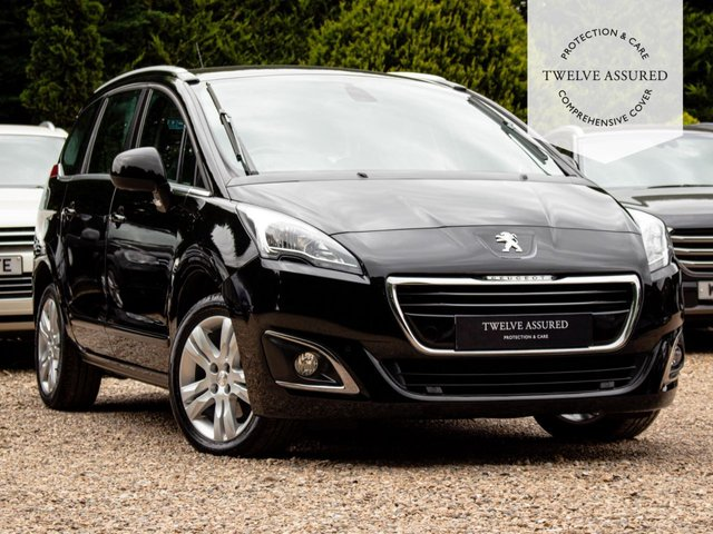 USED 2015 65 PEUGEOT 5008 1.6 BLUE HDI S/S ACTIVE 5d AUTO 120 BHP