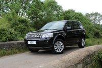2012 LAND ROVER FREELANDER 2 2.2 SD4 HSE 5d AUTO 190 BHP (FREE 2 YEAR WARRANTY) £13000.00
